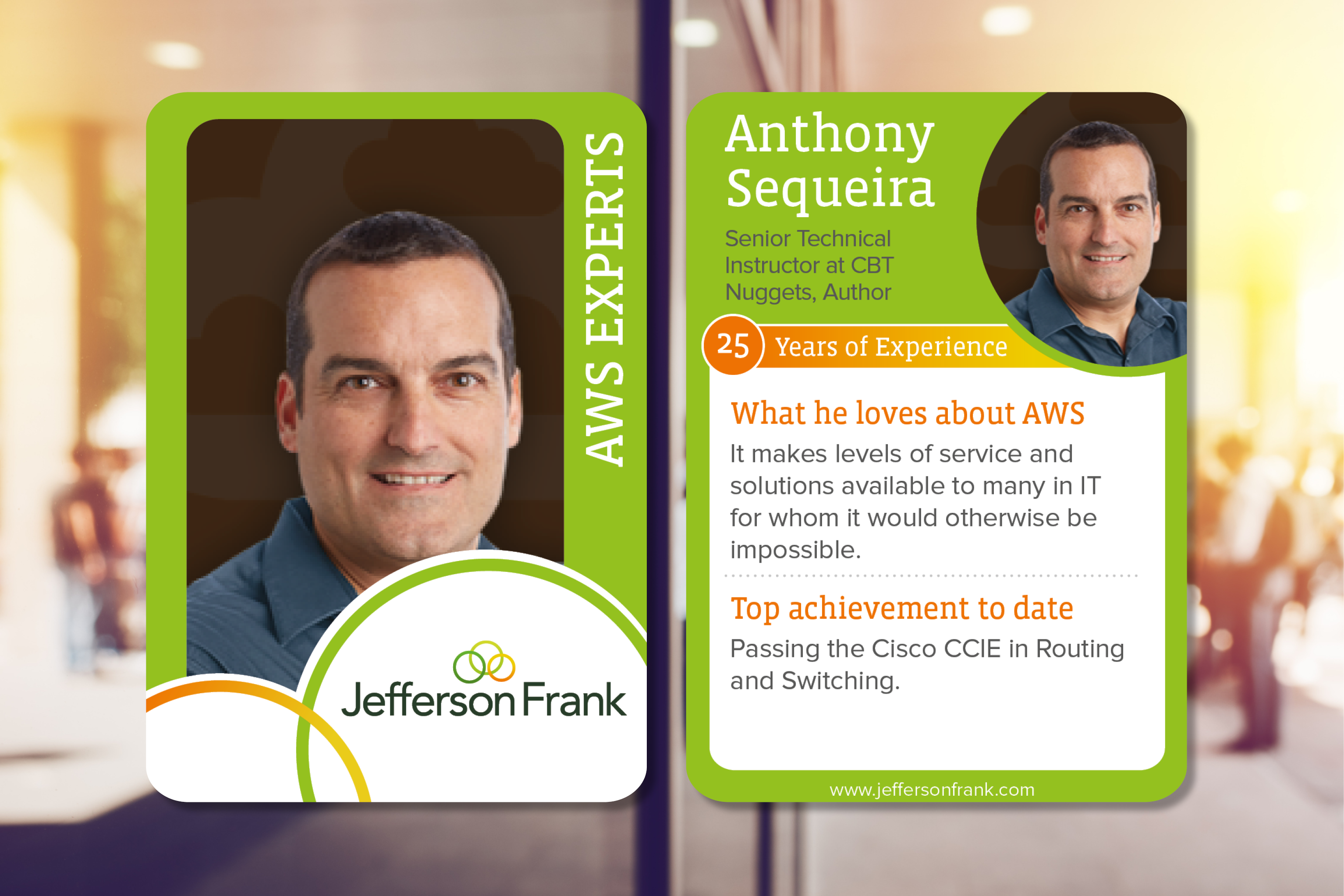 Anthony Sequeira aws experts