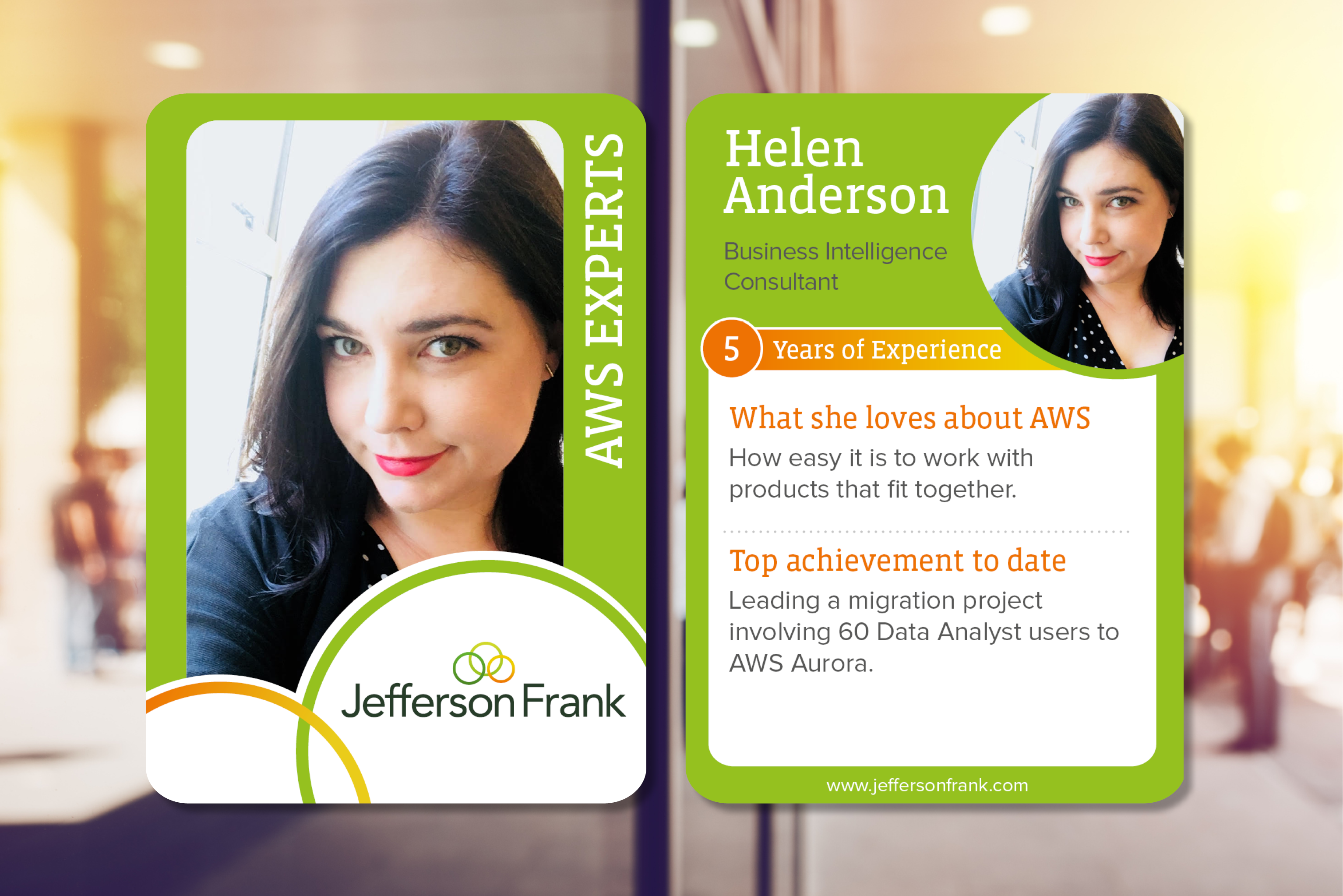 Helen Anderson AWS experts to follow