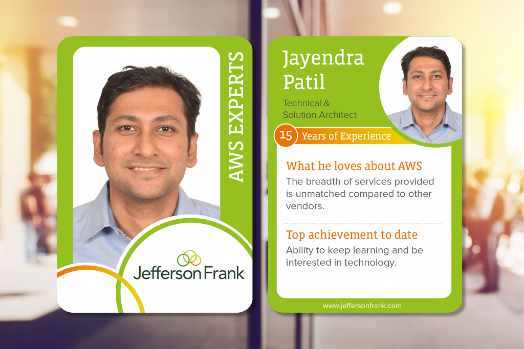 Jayendra Patil AWS expert